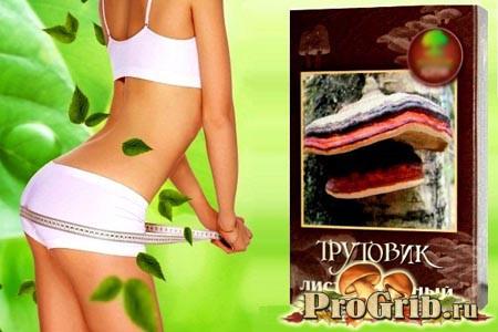 Трутовик модриновий для схуднення