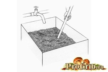 підготовка компосту для субстрату