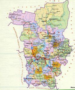 Карта грибника Прикам'я