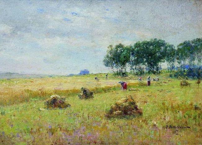 Похитонов Іван Павлович [1850 - 1923] - Жнива